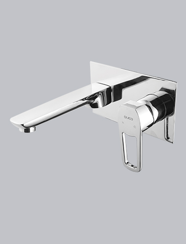 Concealed Body Wall Mounted Single Lever Basin Tap Enzo