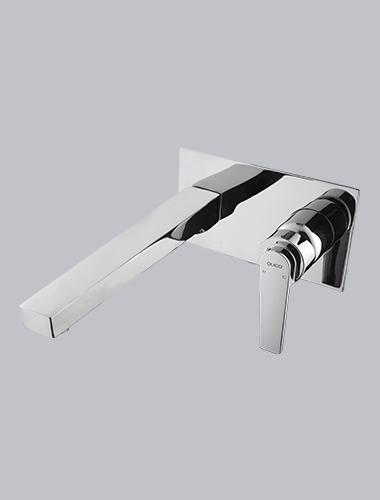Concealed Body Wall Mounted Single Lever Basin Mixer Enzo