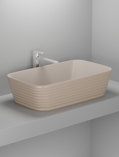 Over The Counter Basin F-Le Forme Beaver