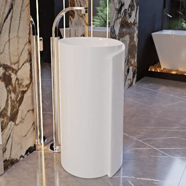 Free Standing Basin F-Courbe